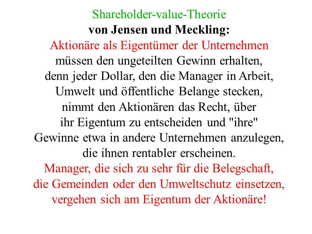 Franz Oppenheimers Transformationsgesetz von 1894 Produktivgenossenschaften waren (und sind) im Gegensatz zu den Verbraucher-/Konsumgenosenschaften in zweierlei Hinsicht zur Schließung verurteilt: 1.