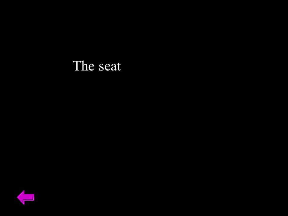 The seat