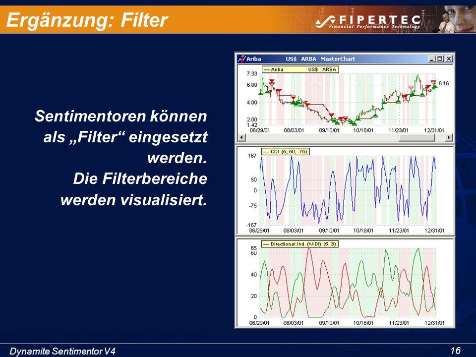 """Dynamite Sentimentor V4 16 Ergänzung: Filter Sentimentoren können als """"Filter"""" eingesetzt werden. Die Filterbereiche werden visualisiert."""