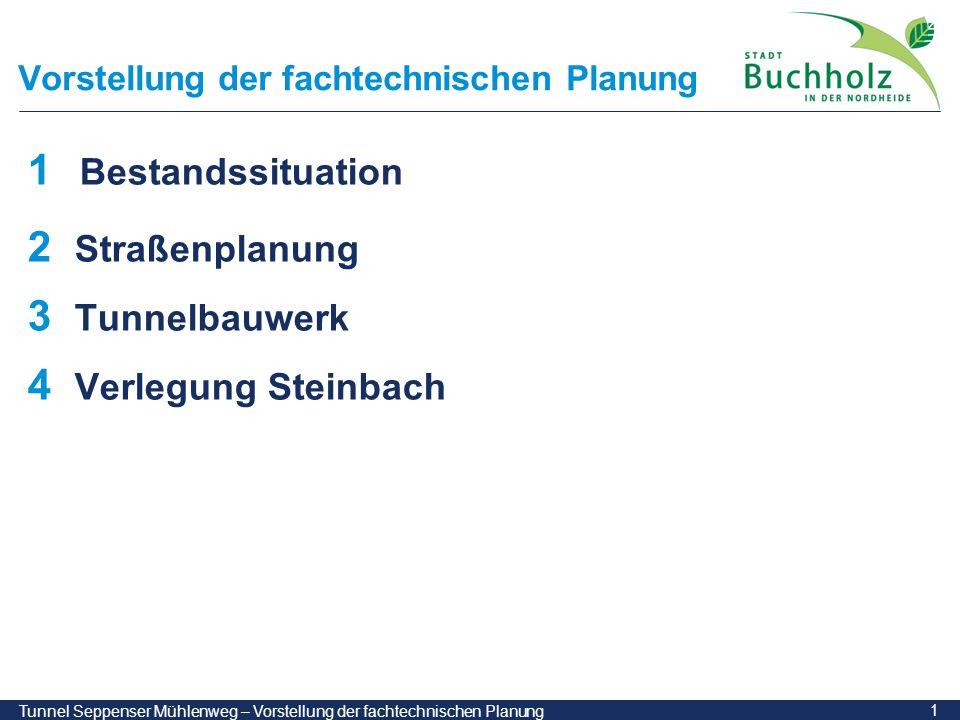 22 Tunnel Seppenser Mühlenweg – Vorstellung der fachtechnischen Planung Phase 4: Stahlbetongewölbe