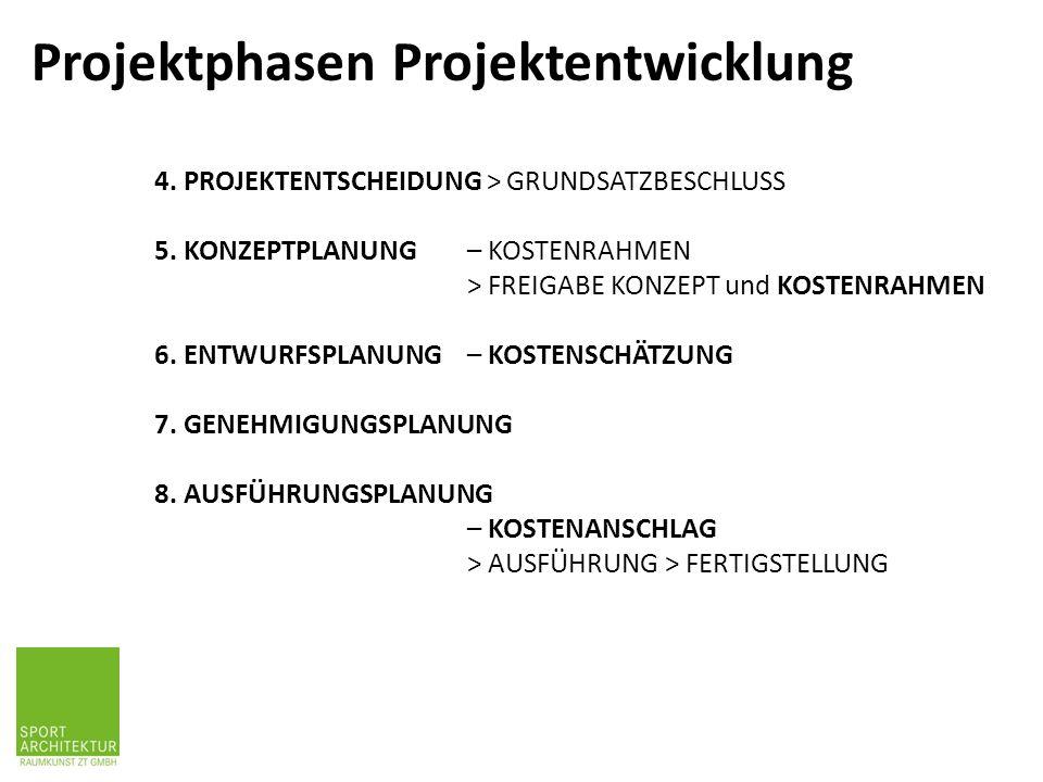 4. PROJEKTENTSCHEIDUNG > GRUNDSATZBESCHLUSS 5.