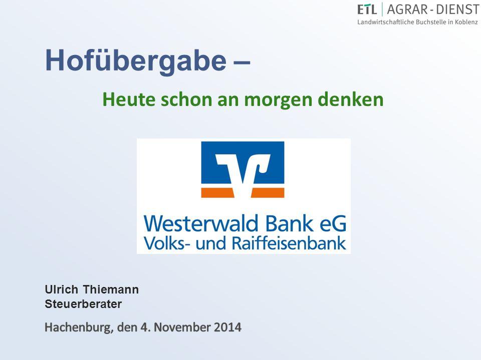 Es begrüßt Sie: Steuerberater Ulrich Thiemann 2