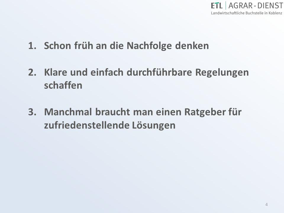 25 Ermittlung des Mindestwertes Größerer Milchviehbetrieb in Rheinland-Pfalz Pachtpreis 226 €/ha Eigentumsfläche 50 ha ergibt 11.300 € Besatzkapital 195 €/ha Bewirtschaftete Fläche 100 ha ergibt 19.500 € Summe30.800 € Kapitalisierungsfaktor 18,6572.880 € Betriebliche Verbindlichkeiten./.