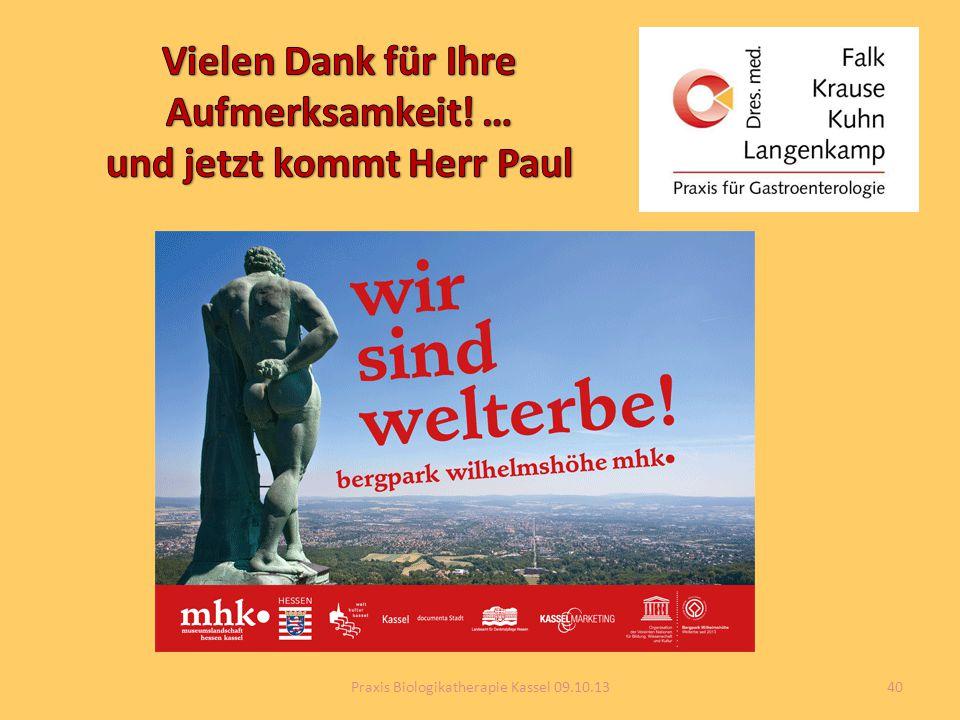 40Praxis Biologikatherapie Kassel 09.10.13
