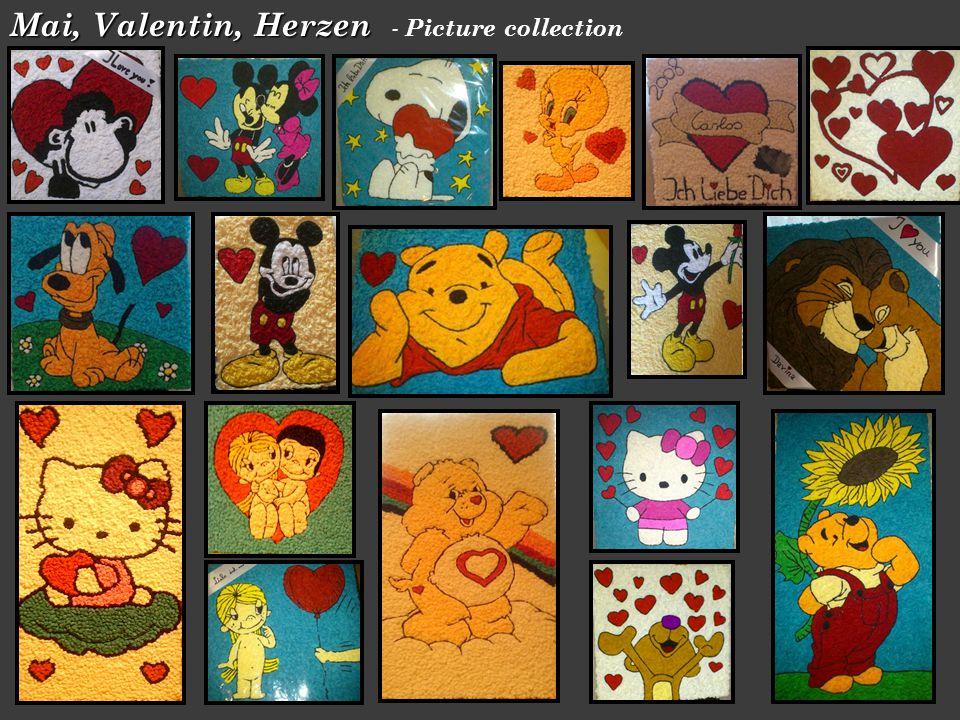 Mai, Valentin, Herzen Mai, Valentin, Herzen - Picture collection
