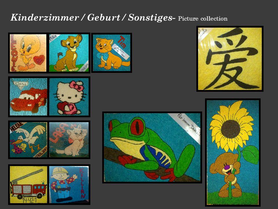 Kinderzimmer / Geburt / Sonstiges- Picture collection
