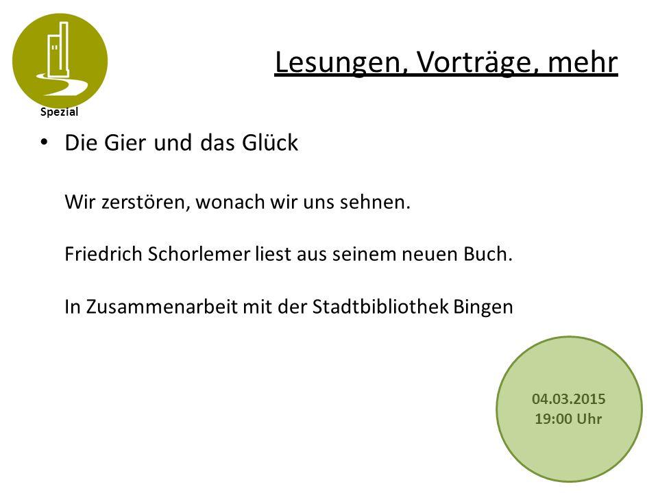 Spezial Lesungen, Vorträge, mehr Goethe auf dem Rochusfest 1814 Vor fast genau 200 Jahren besuchte Goethe das nach den Jahren der französischen Herrschaft wieder feierlich begangene Rochusfest.