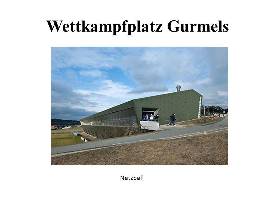 Wettkampfplatz Gurmels Netzball