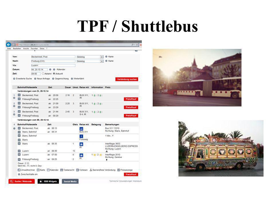 TPF / Shuttlebus