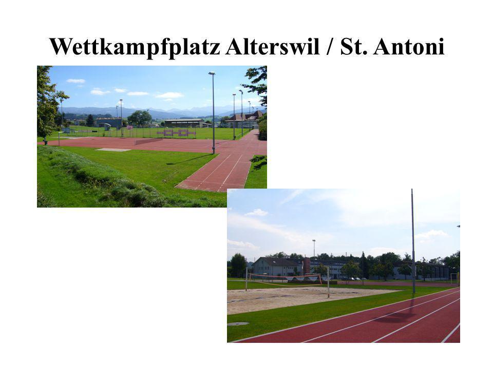 EWK / GWK Wahlmehrkampf wird auf zwei Sportplätzen angeboten (Alterswil / St.