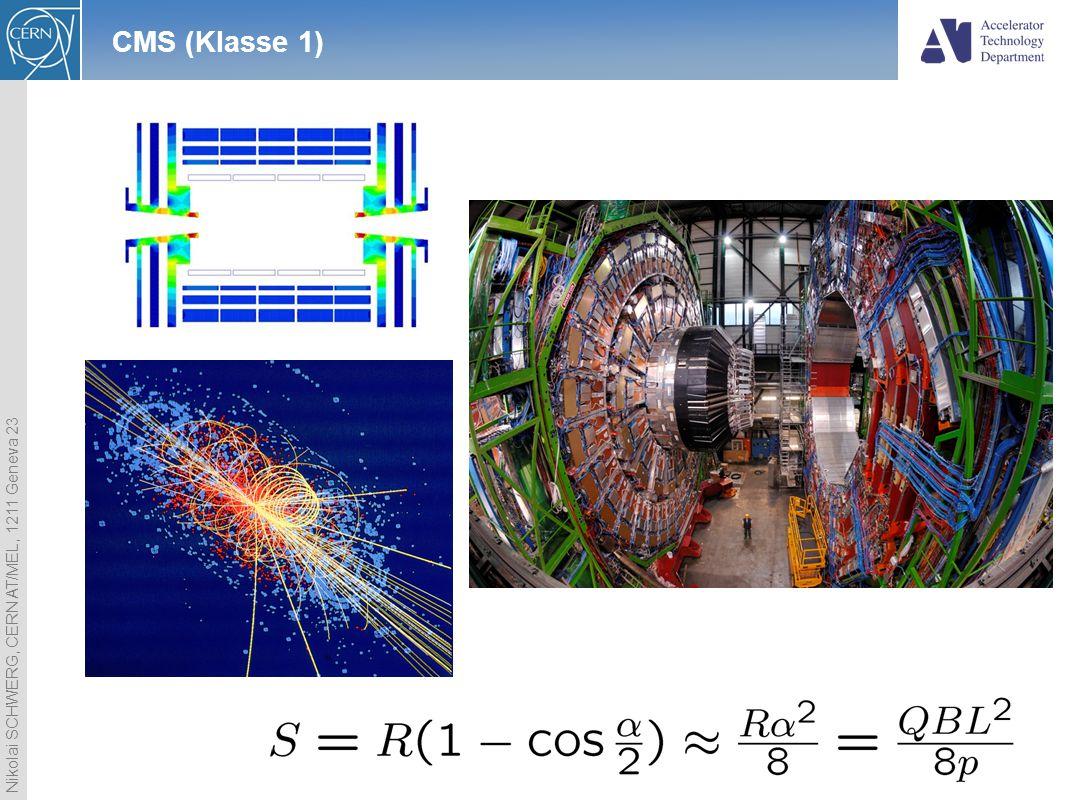 Nikolai SCHWERG, CERN AT/MEL, 1211 Geneva 23 2 CMS (Klasse 1)