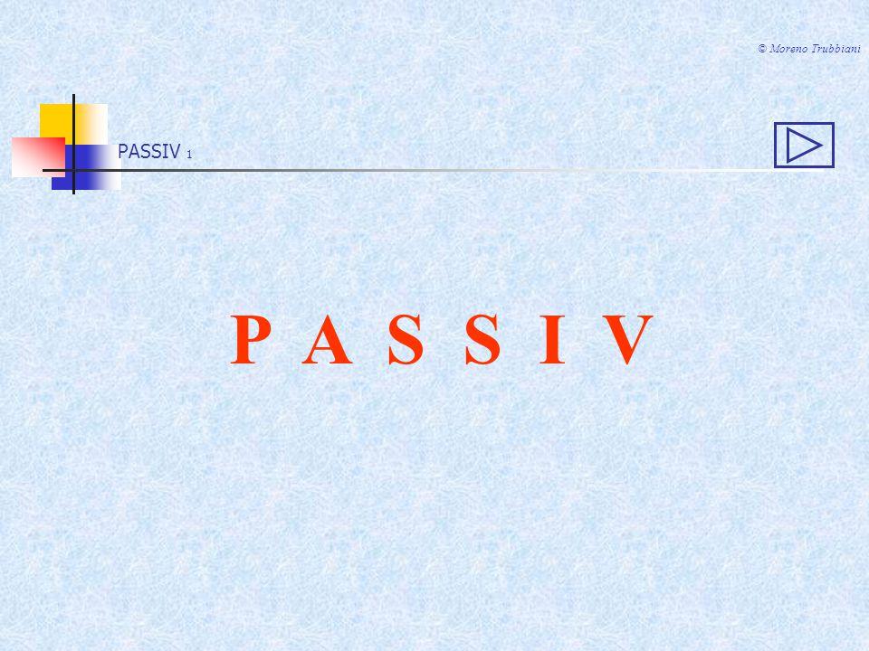 PASSIV 11 © Moreno Trubbiani Complemento di agente VON + DATIVO (persone) Complemento di causa efficiente DURCH + ACCUSATIVO (cose)