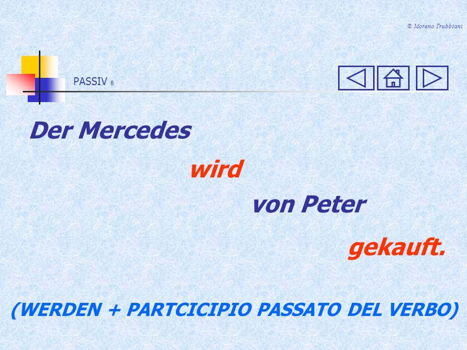 PASSIV 8 © Moreno Trubbiani Der Mercedes wird von Peter gekauft.