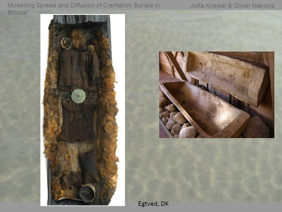 Jutta Kneisel & Oliver Nakoinz Modelling Spread and Diffusion of Cremation Burials in Bronze Egtved, DK