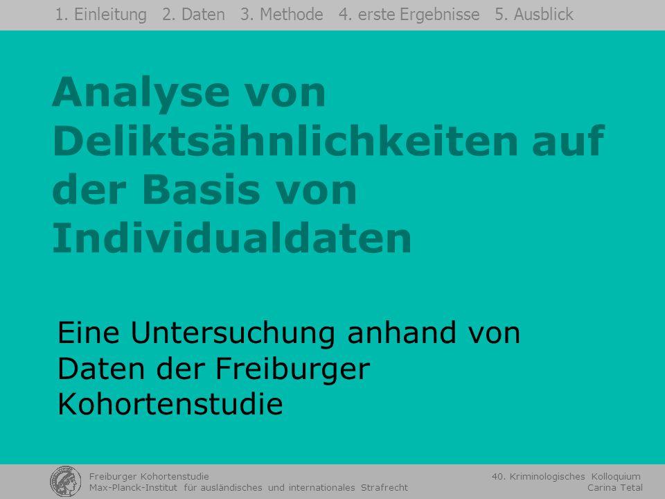 Prof.Dr. Ulrich Sieber Freiburger Kohortenstudie 40.