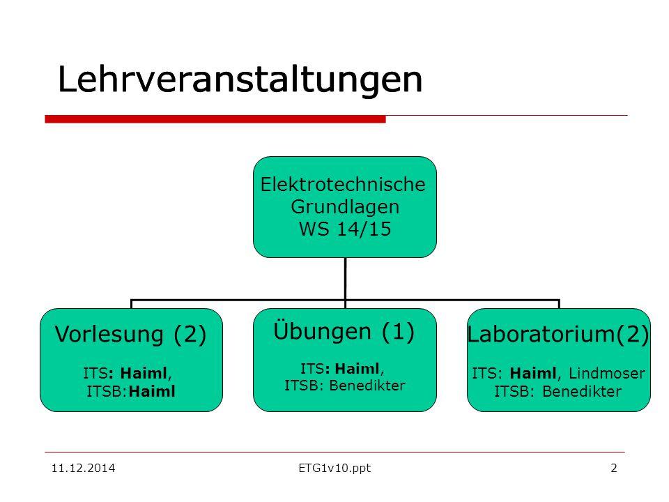 """11.12.2014ETG1v10.ppt13 Stromerzeugung = Energieumwandlung Brennstoffzellen oxidieren Wasserstoff 2H 2 +O 2 =2H 2 O """"kalte Verbrennung setzt 68,3*4,19 kJ pro mol H 2 O liq frei oder Methan CH 4 CH 4 +2O 2 = CO 2 +H 2 O  E= U*I*t Brennstoffzellen für den PKW (Honda)"""