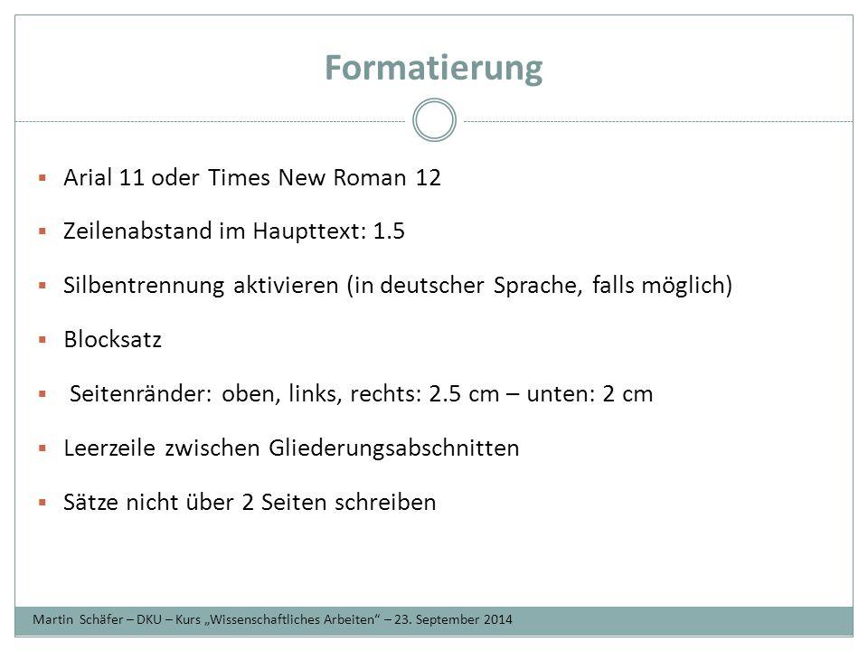 Zitieren  Harvard-Stil: bitte in dieser Arbeit benutzen unterschiedliche Angaben für jede Quellenart (immer nachfragen) Fichte, Johann G., 1808, Reden an die deutsche Nation, -- Buch, -- Verlag, - - Ort.