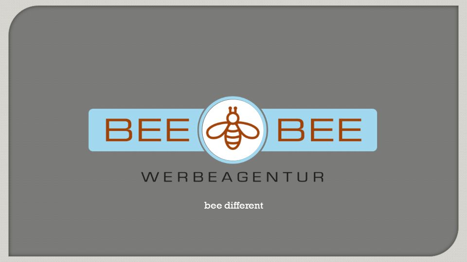 Agenturpräsentation BEE BEE Werbeagentur Folie 23 von 28 | Corporate Design
