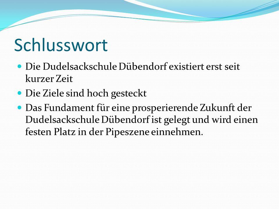 Vision Zusammenarbeit mit anderen Lehrer, um das Pipen für alle Lernwillige auch in anderen Regionen nach der Philosophie der Dudelsackschule Dübendor