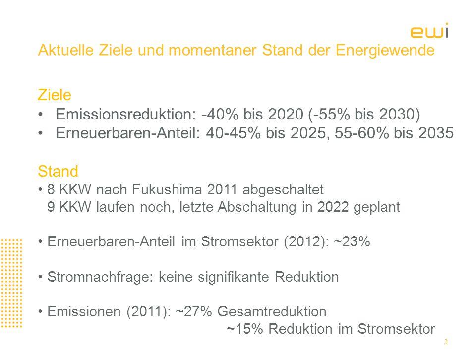 Geplante Investitionen im Stromsektor für 2013 bis 2022 betragen im Zielszenario 208 Mrd.