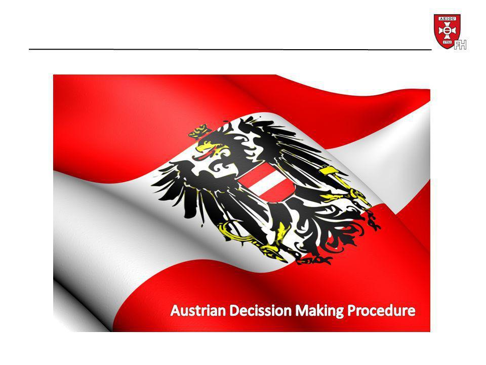 International commitment: Art 42 Treaty of the EU Art 23f B-VG Österreich wirkt an der Gemeinsamen Außen- und Sicherheitspolitik der Europäischen Union….mit.