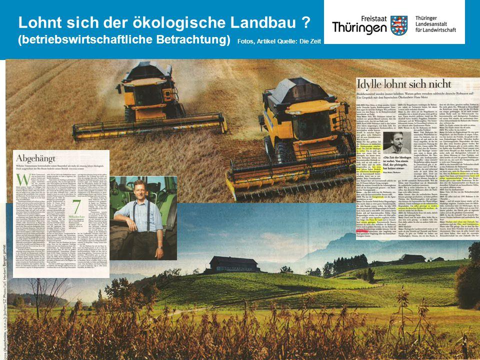 - Betriebswirtschaftliche Situation von Betrieben in den 5 neuen Bundesländern - Lohnt sich der ökologische Landbau ? (betriebswirtschaftliche Betrach