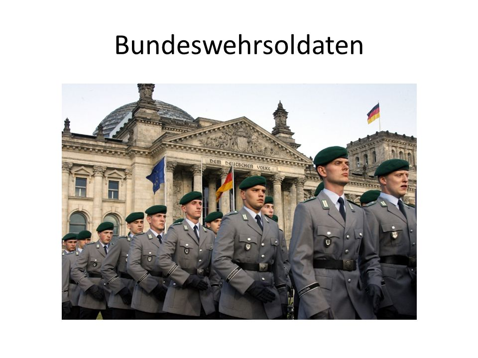 Bundeswehrsoldaten