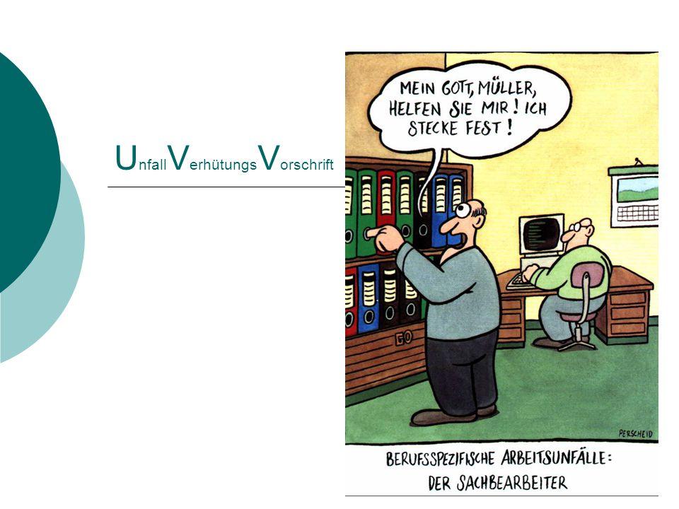 1 U nfall V erhütungs V orschrift