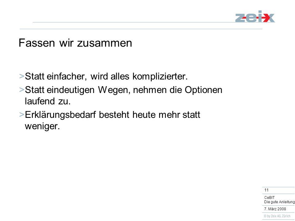 11 CeBIT Die gute Anleitung 7.