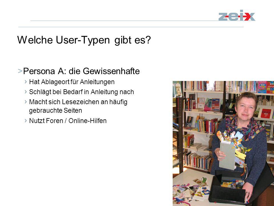 14 CeBIT Die gute Anleitung 7. März 2008 Welche User-Typen gibt es.