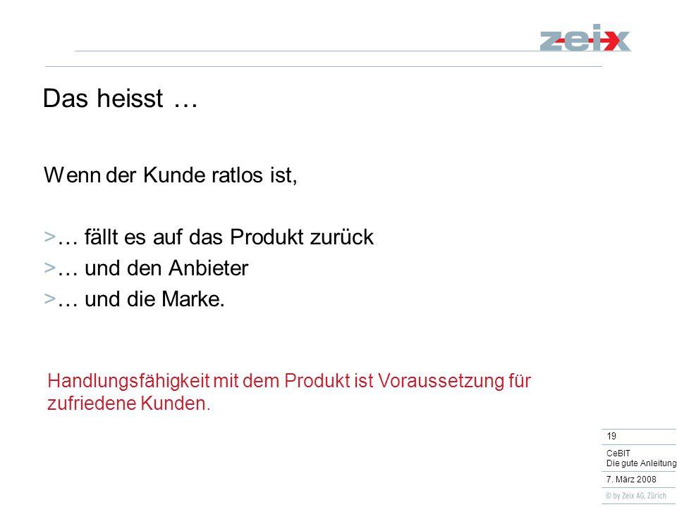19 CeBIT Die gute Anleitung 7.