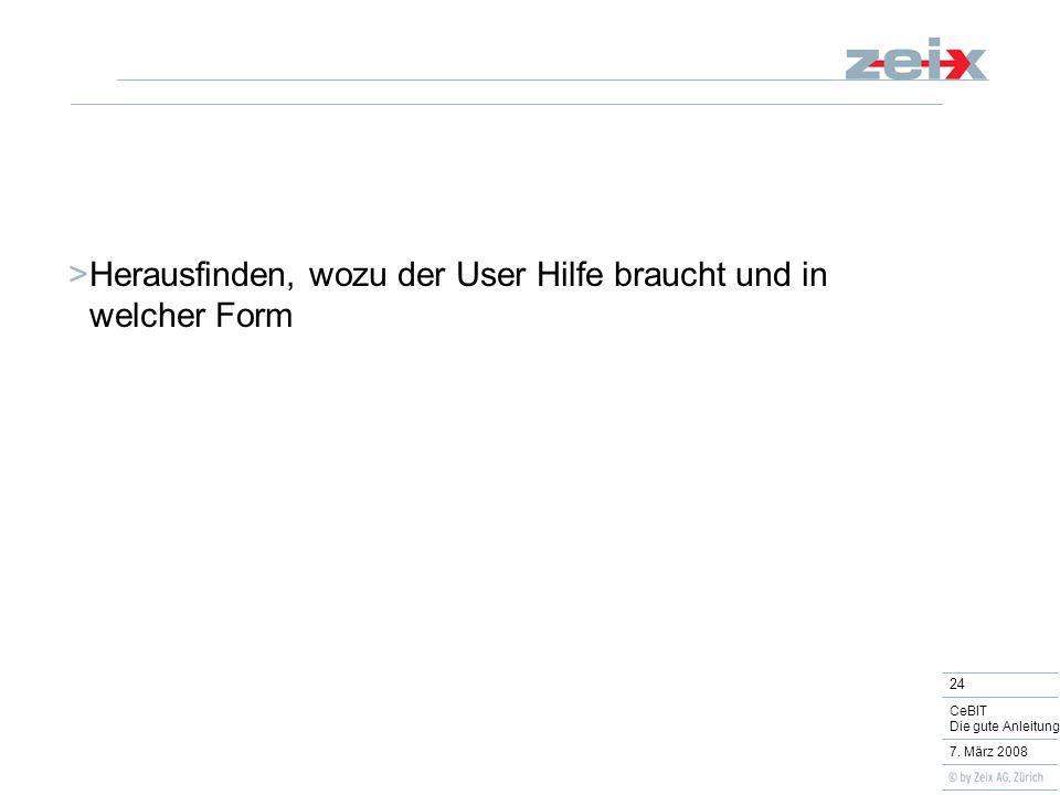 24 CeBIT Die gute Anleitung 7.