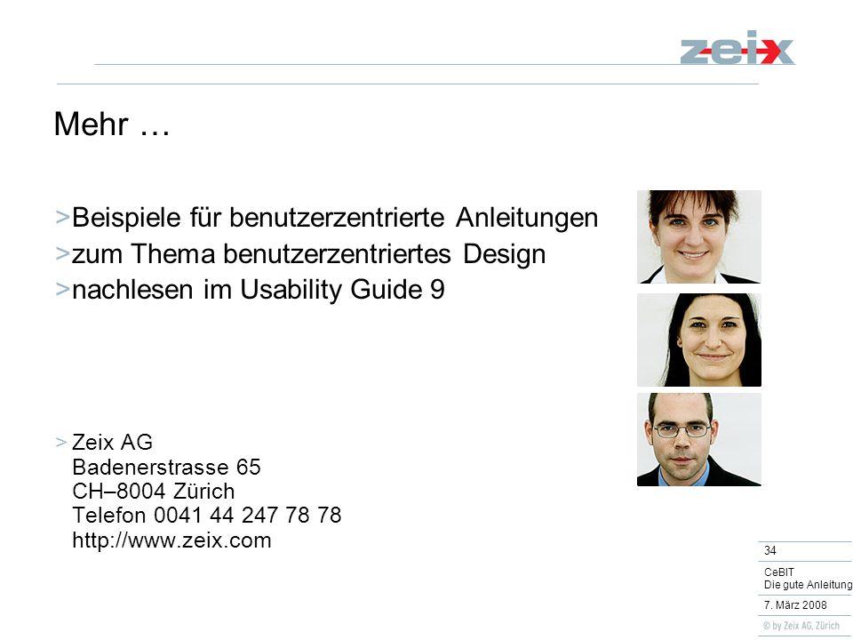 34 CeBIT Die gute Anleitung 7.