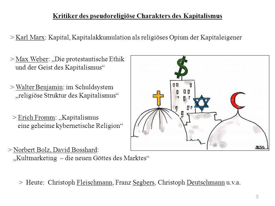 Kritiker des pseudoreligiöse Charakters des Kapitalismus 5 > Karl Marx: Kapital, Kapitalakkumulation als religiöses Opium der Kapitaleigener > Norbert
