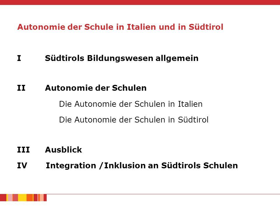 Südtirols Bildungswesen allgemein Einwohner Südtirols: 515.000 (Mai 2014) Deutsche Sprachgruppe  69,41 % Italienische Sprachgruppe  26,06 % ladinische Sprachgruppe  4,53 % Migrationshintergrund (42.522)  8,3 %