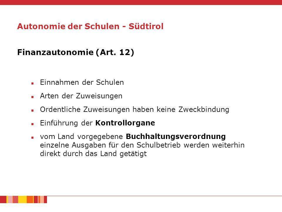 Finanzautonomie (Art.
