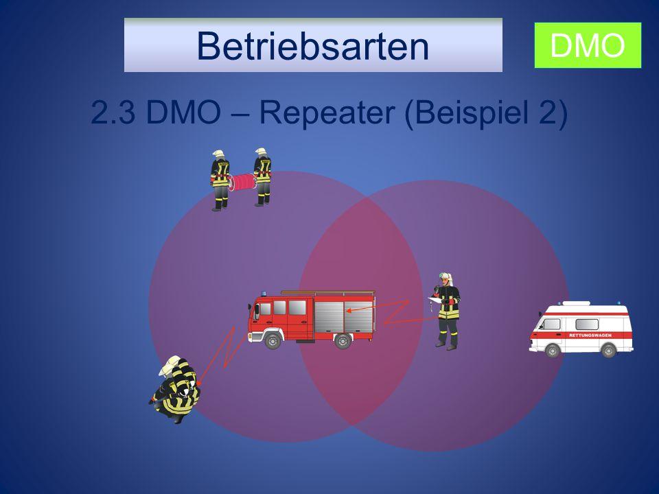 Betriebsarten 2.3 DMO – Repeater (Beispiel 2) DMO