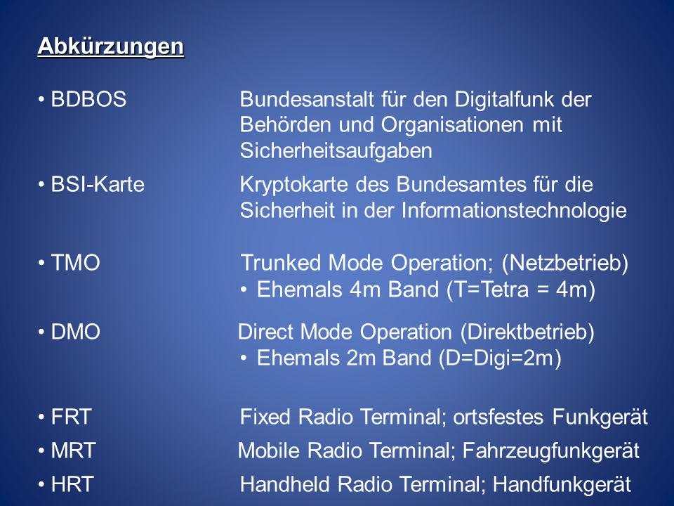 Betriebsarten TMO 1.1 TMO – Gruppenruf DXT TBS Basisstation Untervermittlungs- stelle DXTT Haupt- vermittlungs- stelle DXT Der Gruppenruf wird durch betätigen der Sprechtaste aktiviert.