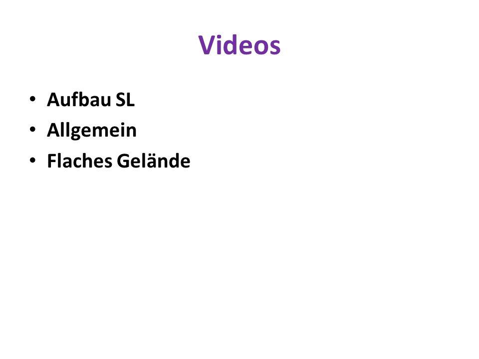 Videos Aufbau SL Allgemein Flaches Gelände