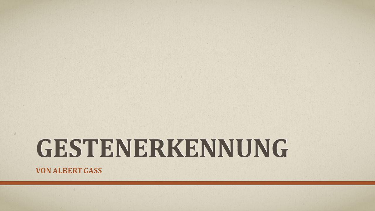 GESTENERKENNUNG VON ALBERT GASS