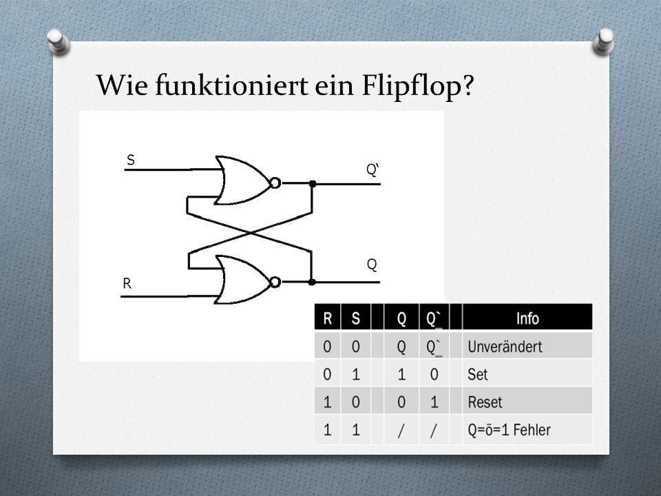 Wie funktioniert ein Flipflop?