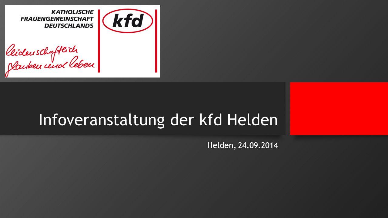 Infoveranstaltung der kfd Helden Helden, 24.09.2014Helden, 24.09.2014