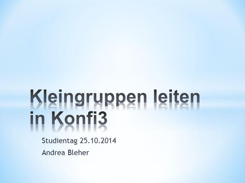 Studientag 25.10.2014 Andrea Bleher