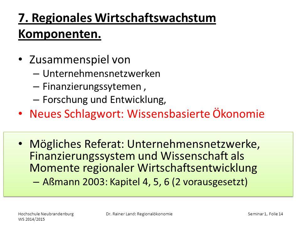 7.Regionales Wirtschaftswachstum Komponenten.