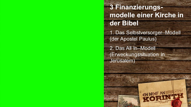 1.Korinther 9, 7-11 a APOSTELGE- SCHICHTE 2, 44 Die Gläubigen lebten wie in einer grossen Familie.