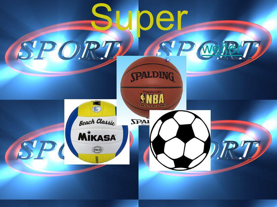 Sport Für welche Sport art braucht man einen Ball Fussball Basketball Volleyball oder alle