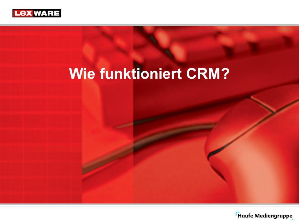 Lexware Händlerkongress 2006 Erstellt von: Christoph Müller Seite: 7 Wie funktioniert CRM.