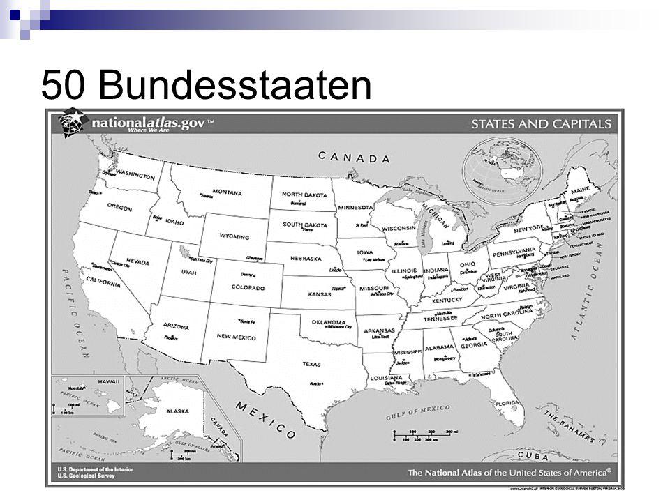 50 Bundesstaaten