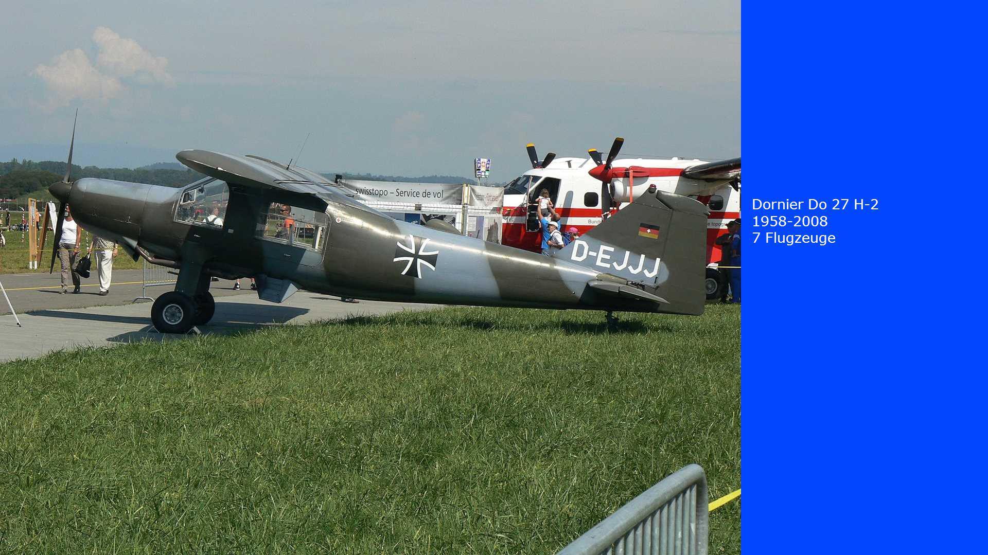 Dornier Do 27 H-2 1958-2008 7 Flugzeuge