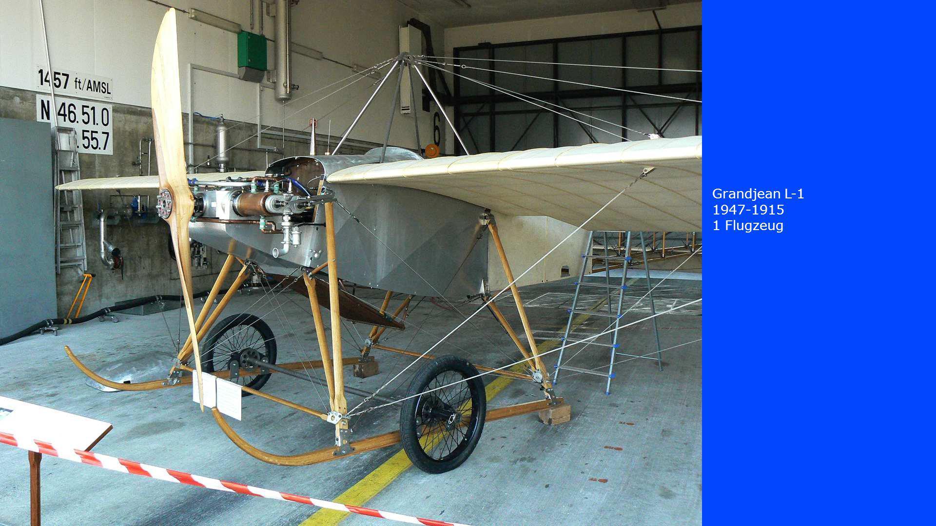 Grandjean L-1 1947-1915 1 Flugzeug